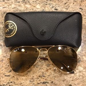 Ray-Ban Polarized Aviators RB 3025 Large